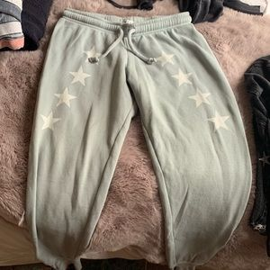 Mint wildfox sweatpants
